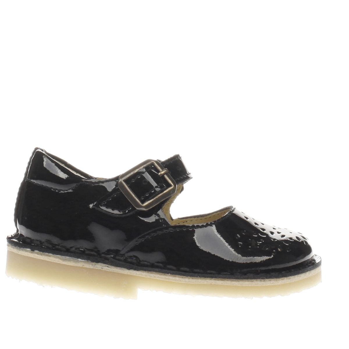 young soles Young Soles Black Delilah Girls Toddler