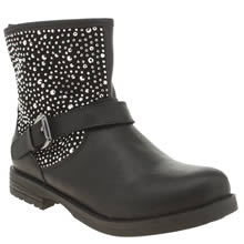 Lelli Kelly Black Polvere Di Stelle Girls Toddler