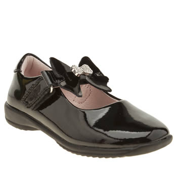 Lelli Kelly Black Charlotte Girls Toddler