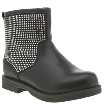 Lelli Kelly Black & Silver Etty Girls Toddler