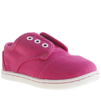 Girls Toms Pink Paseo Girls Toddler