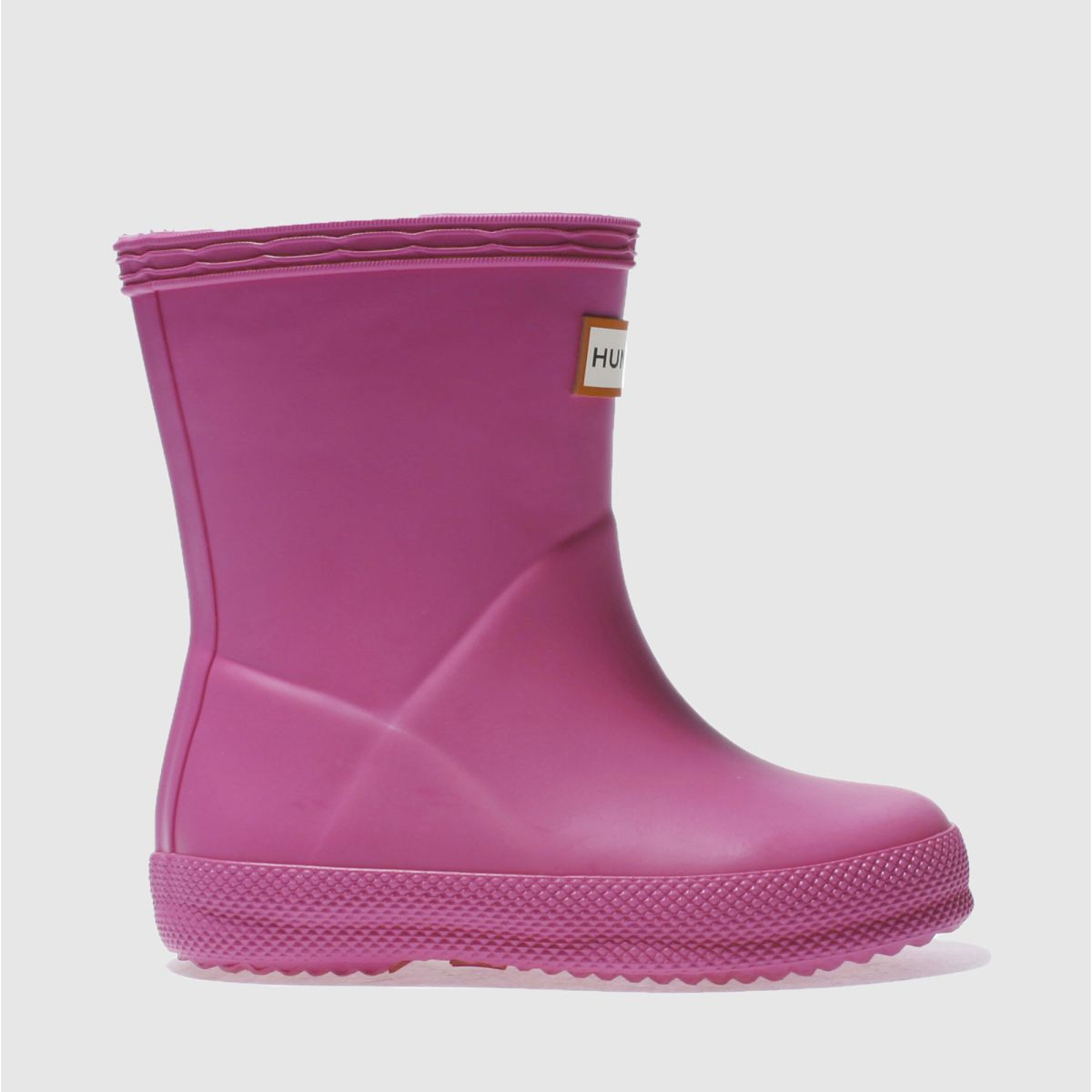 hunter pink first Girls Toddler Boots