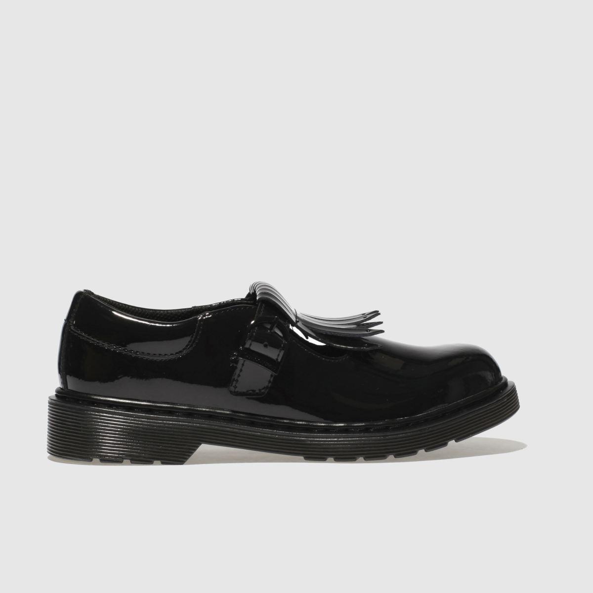 Dr Martens Black Torey Girls Junior Shoes