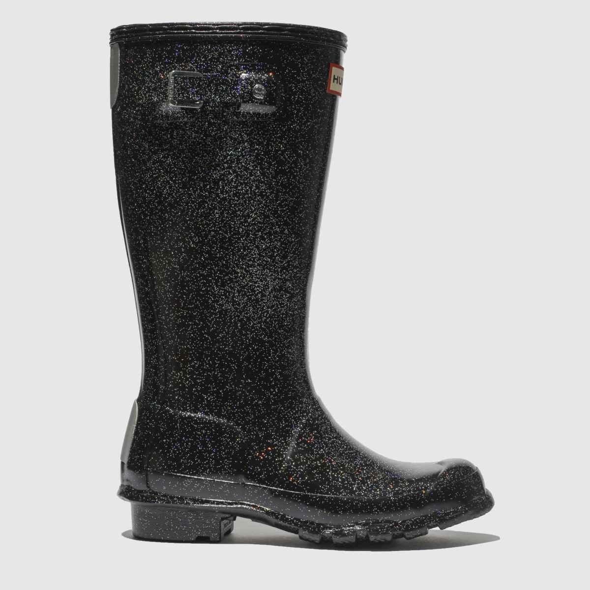 Hunter Black Original Starcloud Boots Junior