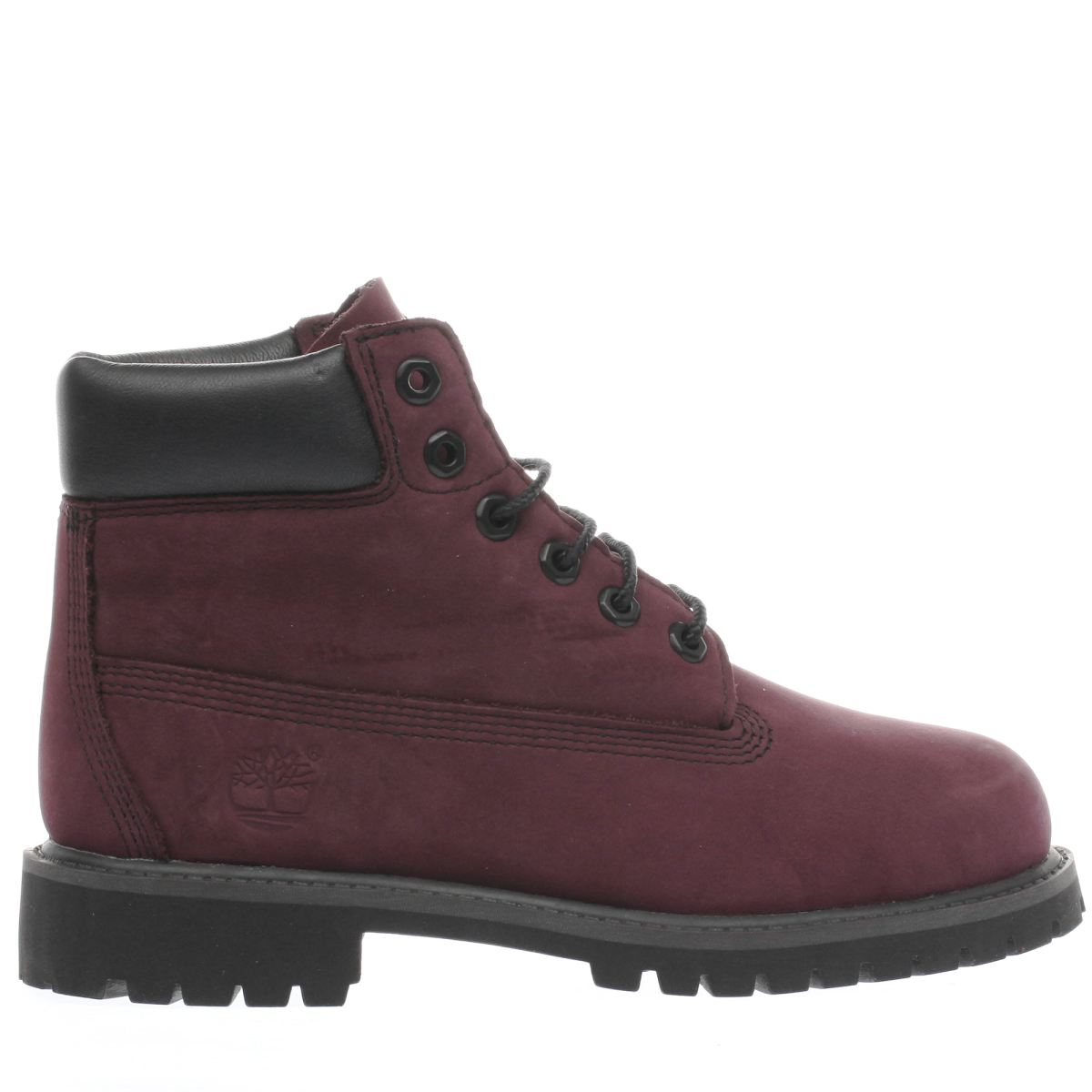 timberland purple 6 in premium Girls Junior Boots