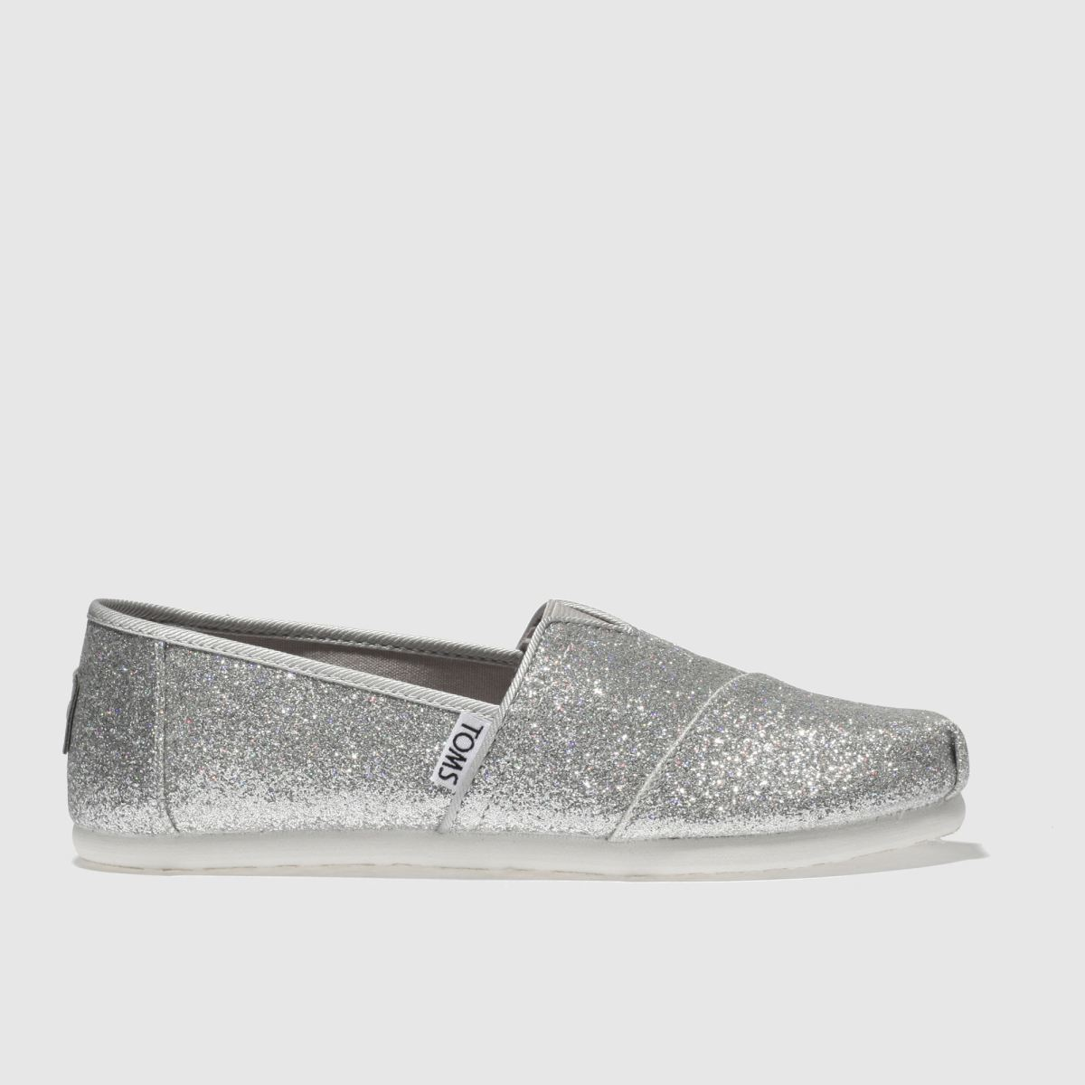 Toms Silver Classic Boots Junior