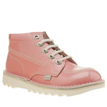 Kickers Pink Hi Core Girls Junior