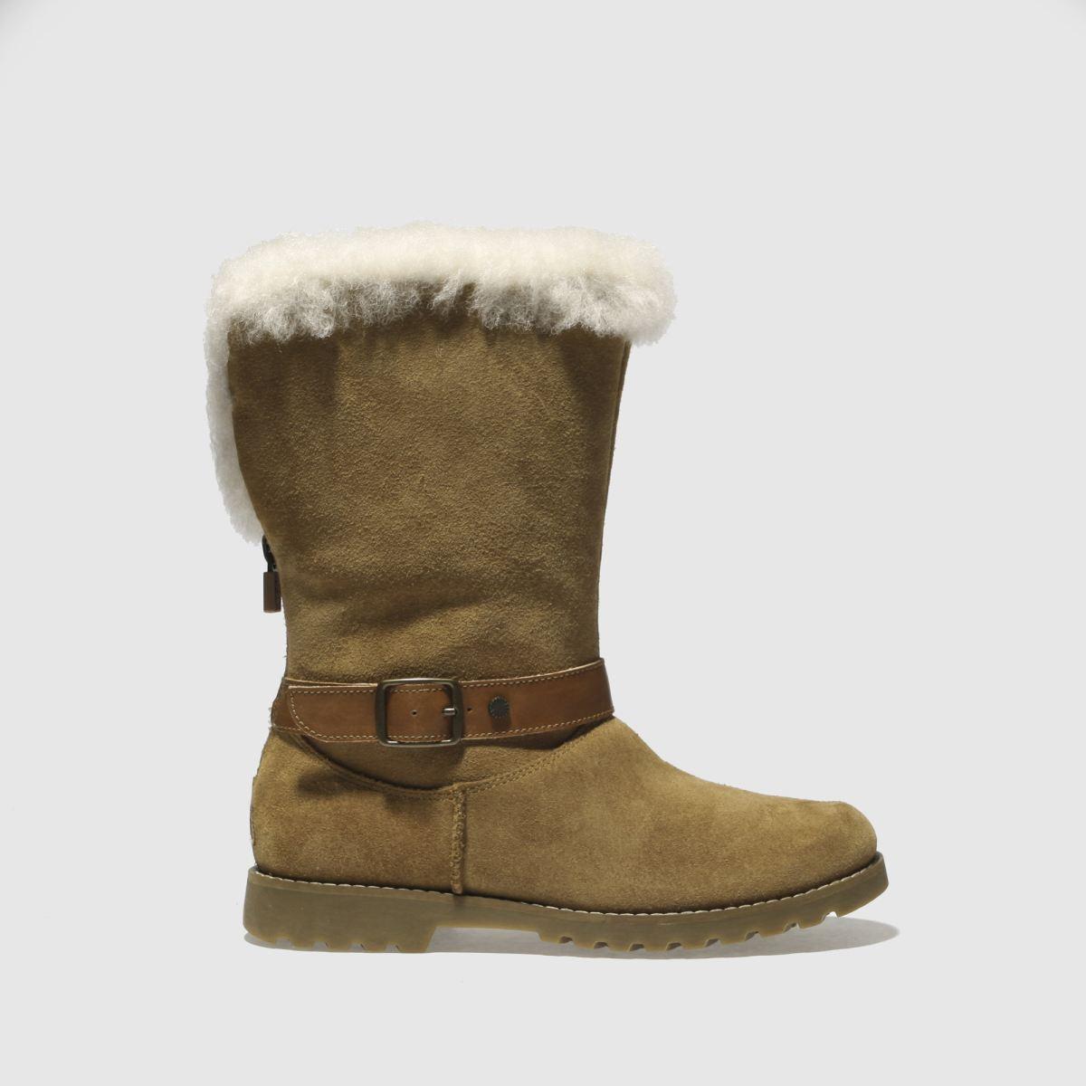 Ugg Tan Nessa Boots Junior