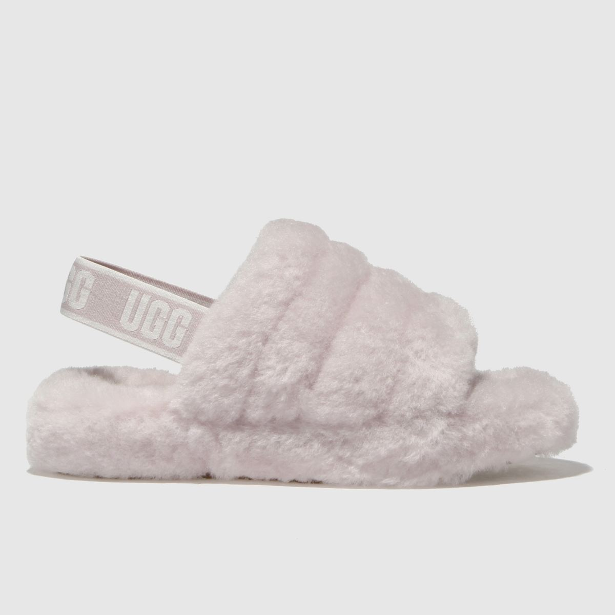 Ugg Pale Pink Fluff Yeah Slide Girls Junior Junior