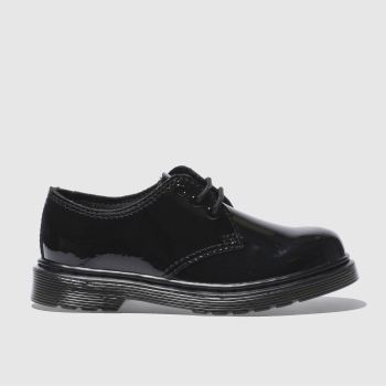 Dr Martens Black Everley Girls Junior