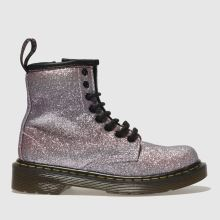 Dr Martens Pink Delaney Girls Junior