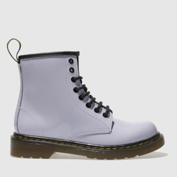 Dr Martens Lilac Brooklee Boot Girls Junior