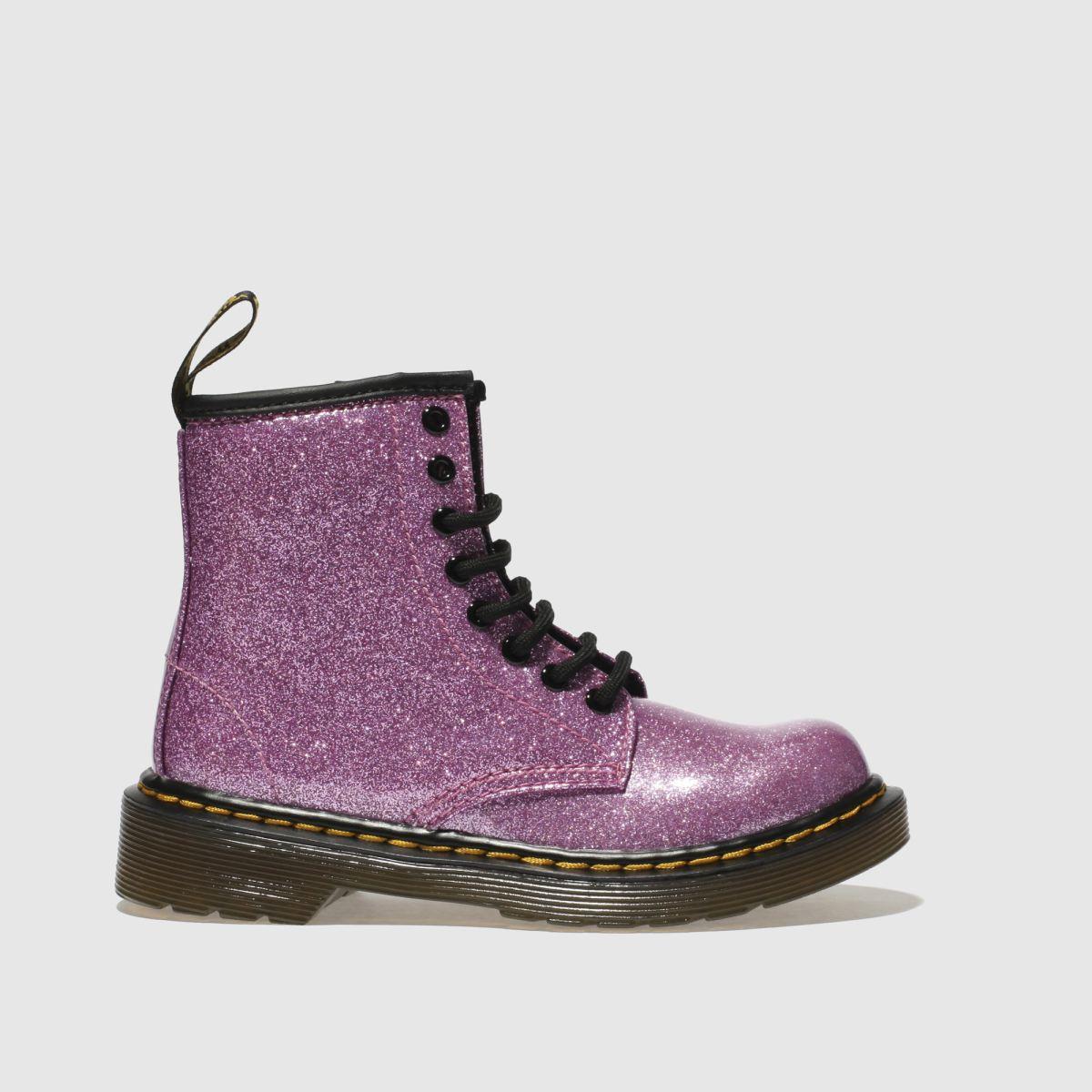 Dr Martens Pink 1460 Glitter Girls Junior Boots