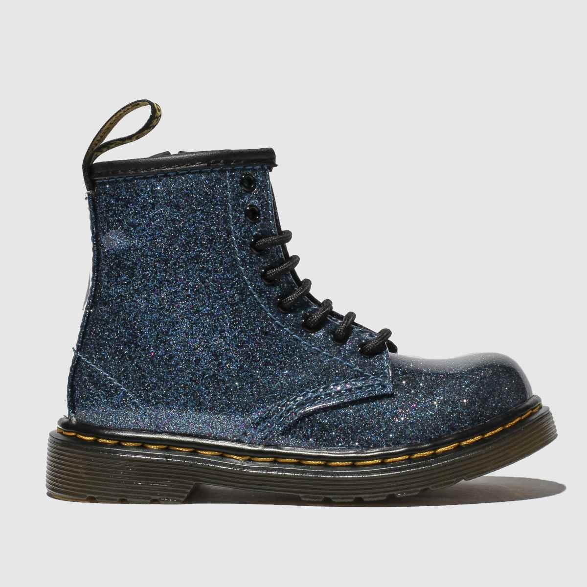 Dr Martens Blue 1460 Glitter Boots Junior