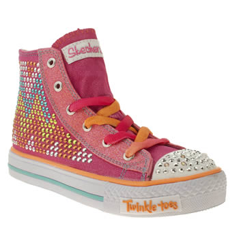 Skechers Multi Edgy Girlz Girls Junior