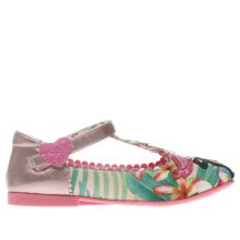 Irregular Choice Pink & Green Flamingo Girls Junior