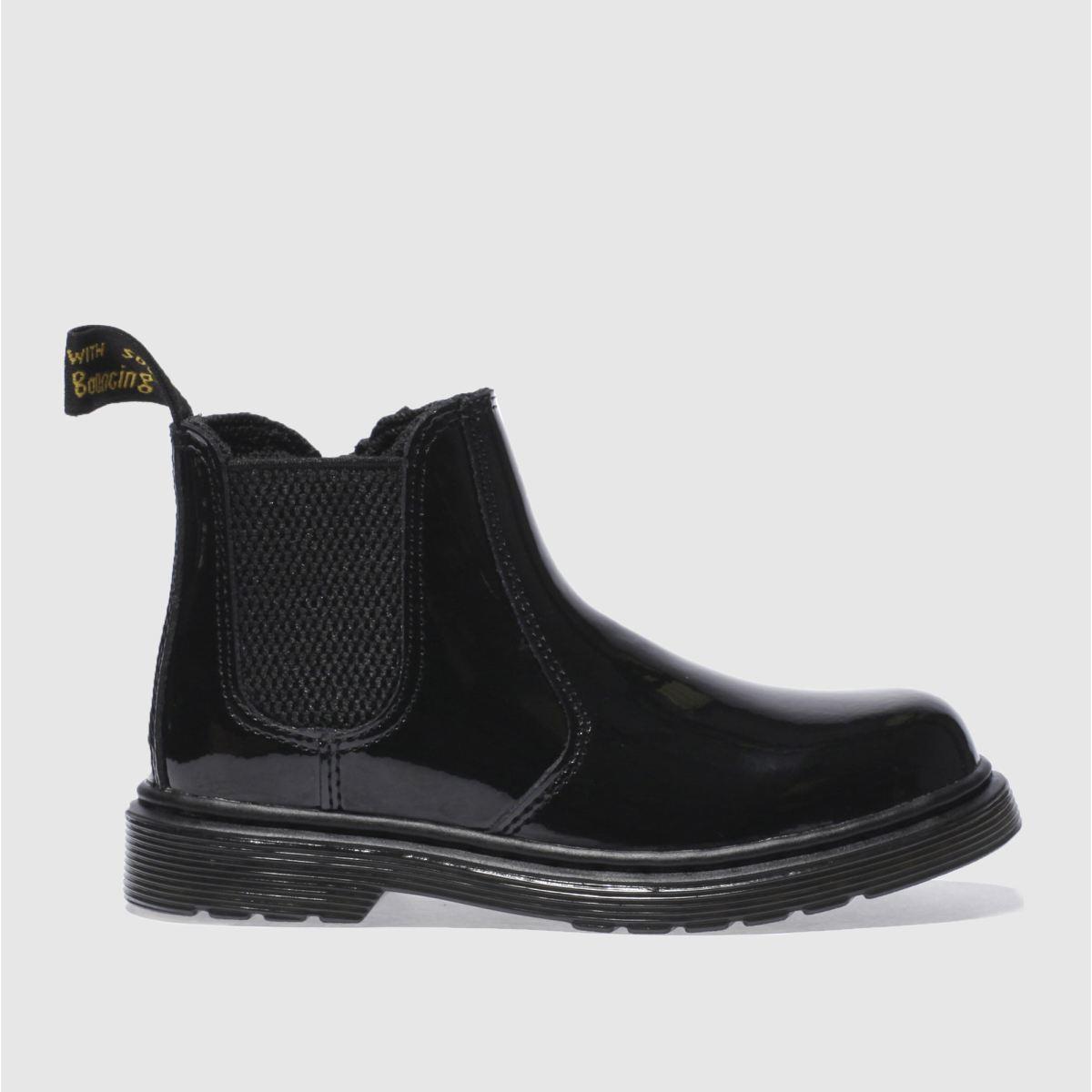 dr martens black banzai Girls Junior Boots