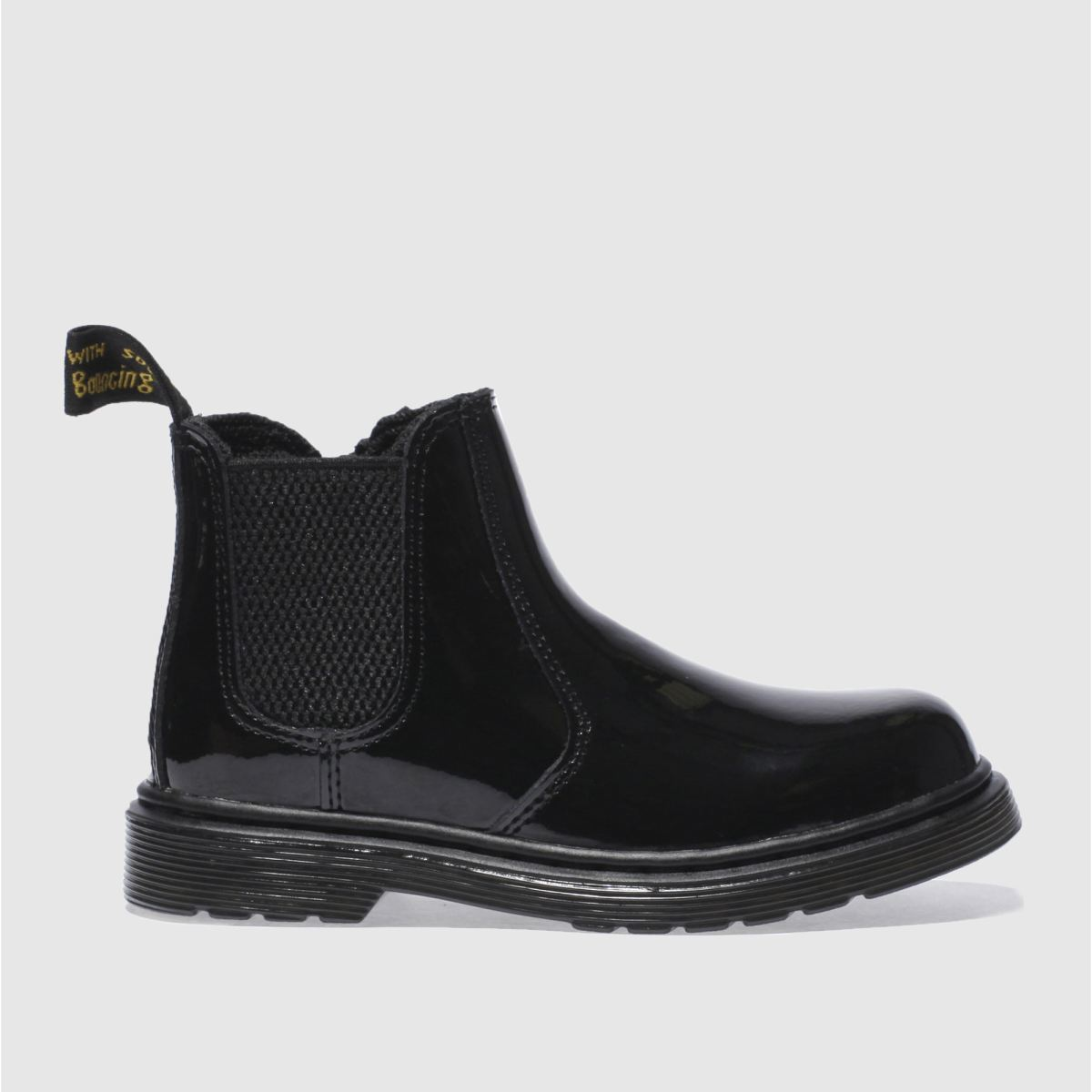 Dr Martens Black 2976 Girls Junior Boots