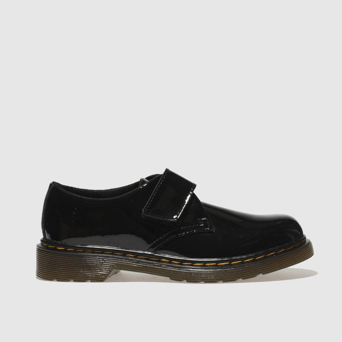 Dr Martens Black Kamron Girls Junior Shoes