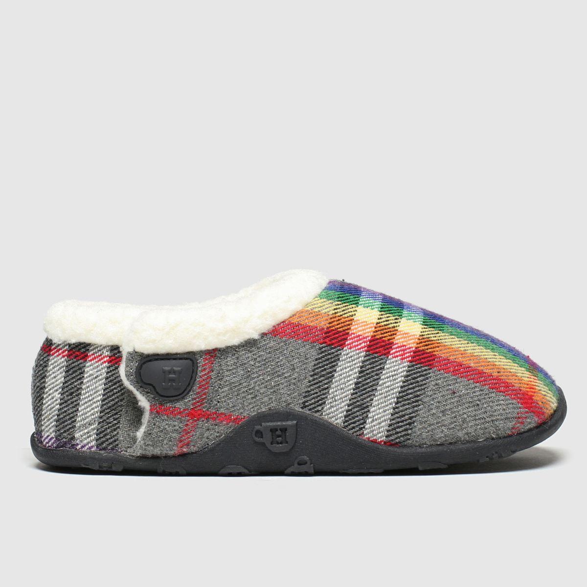 Homeys Homeys Grey & Red Bella Boots Junior