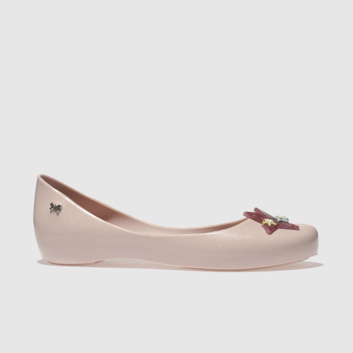 Zaxy Zaxy Pale Pink Glitter Star Girls Junior Shoes