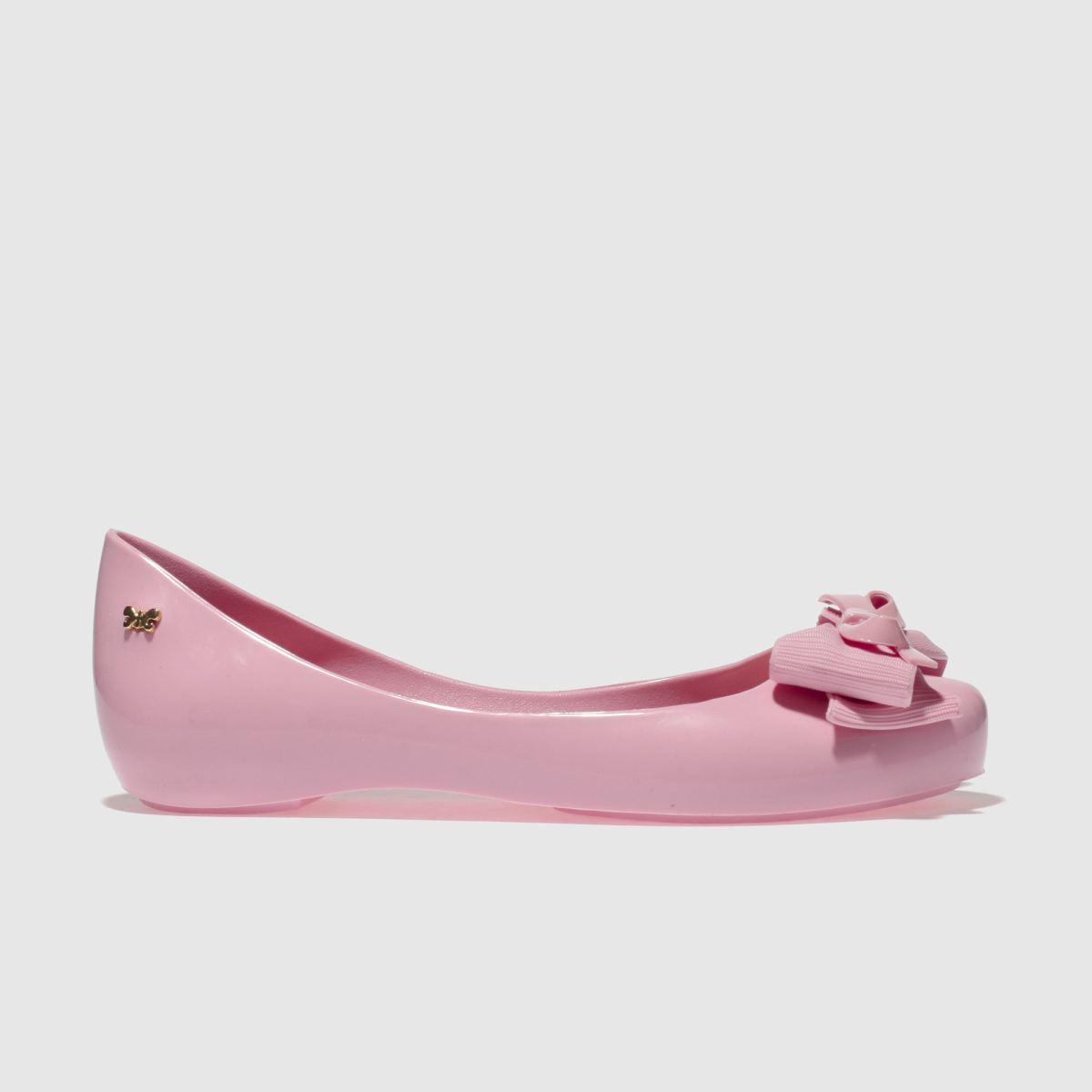 Zaxy Zaxy Pink Ribbon Bow Girls Junior Shoes