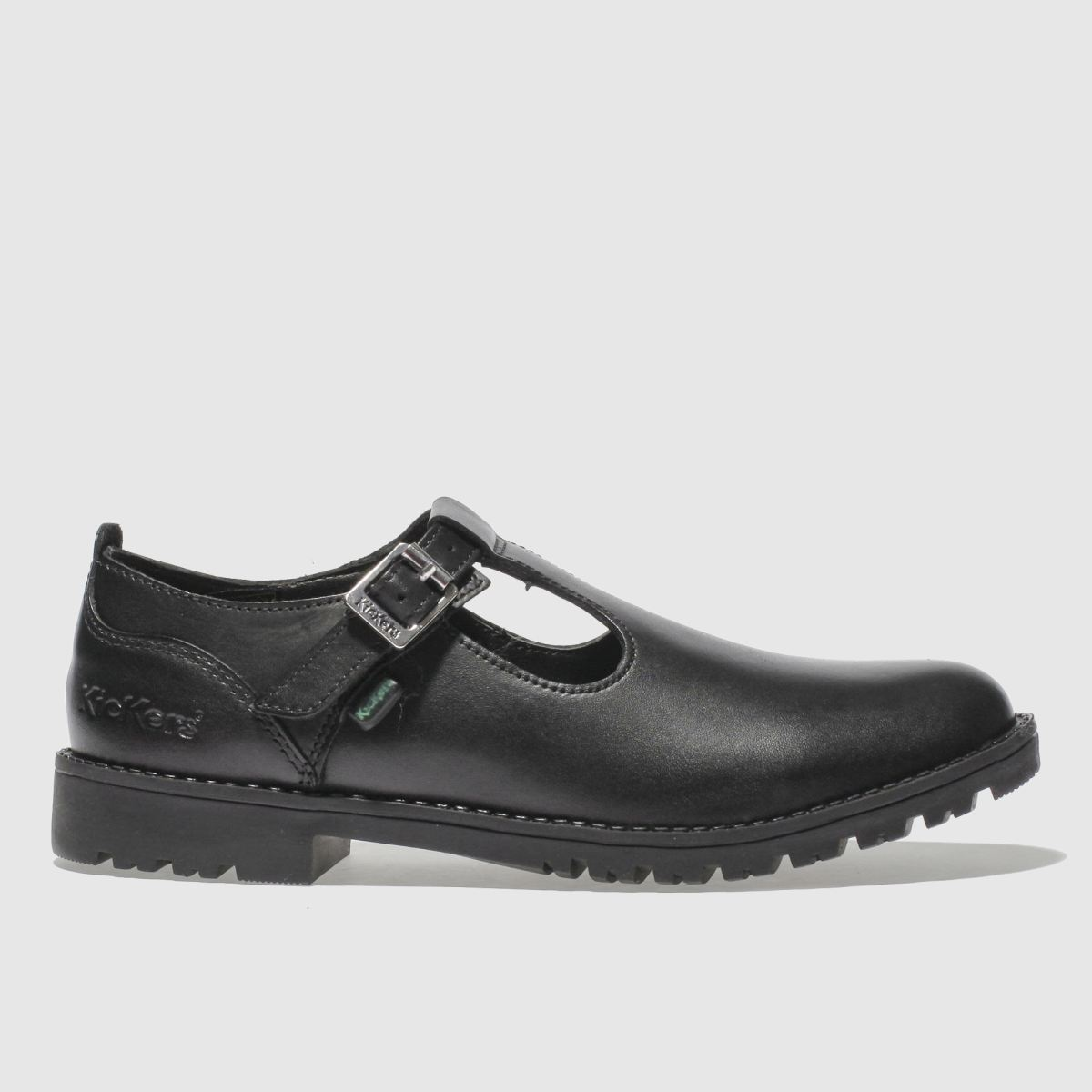 Kickers Black Lachly T Girls Junior Shoes