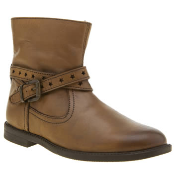Hush Puppies Brown Cheryl Girls Junior
