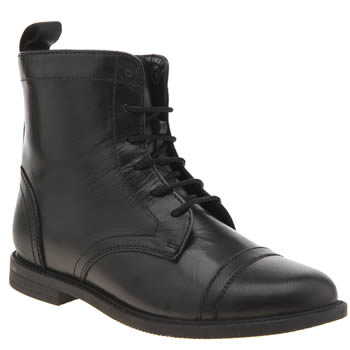Hush Puppies Black Bonnie Girls Junior