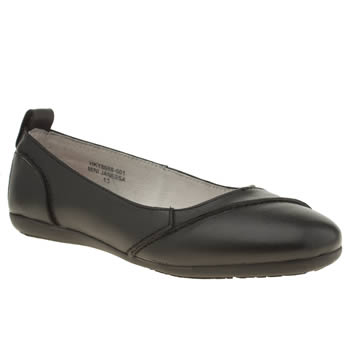 Hush Puppies Black Mini Janessa Girls Junior