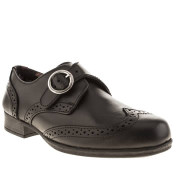 Hush Puppies Black Melayna Girls Junior