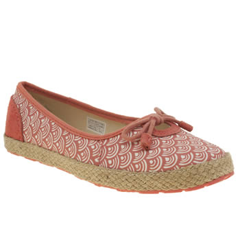 Girls Ugg Australia Peach Ronna Scallop Girls Junior