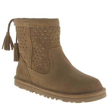 Ugg Australia Tan Kaelou Girls Junior