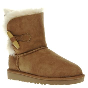Ugg Australia Tan Ebony Girls Junior