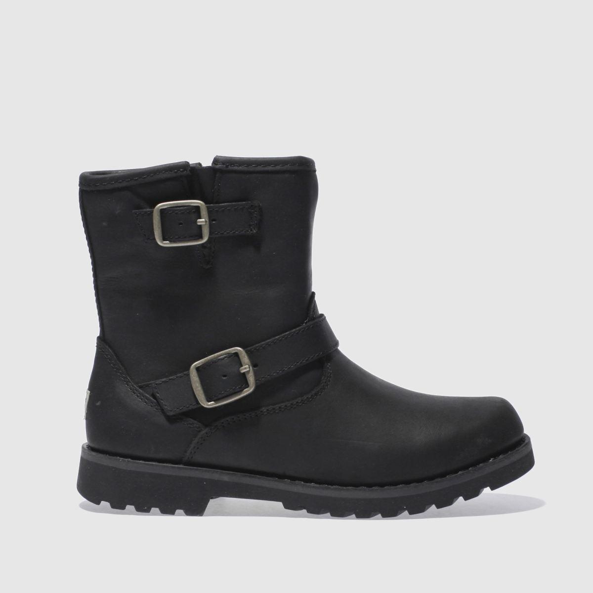 UGG Australia Ugg Black Harwell Boots Junior