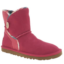 Ugg Australia Pink Leona Serape Girls Junior