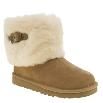 Ugg Australia Tan Ellee Girls Junior