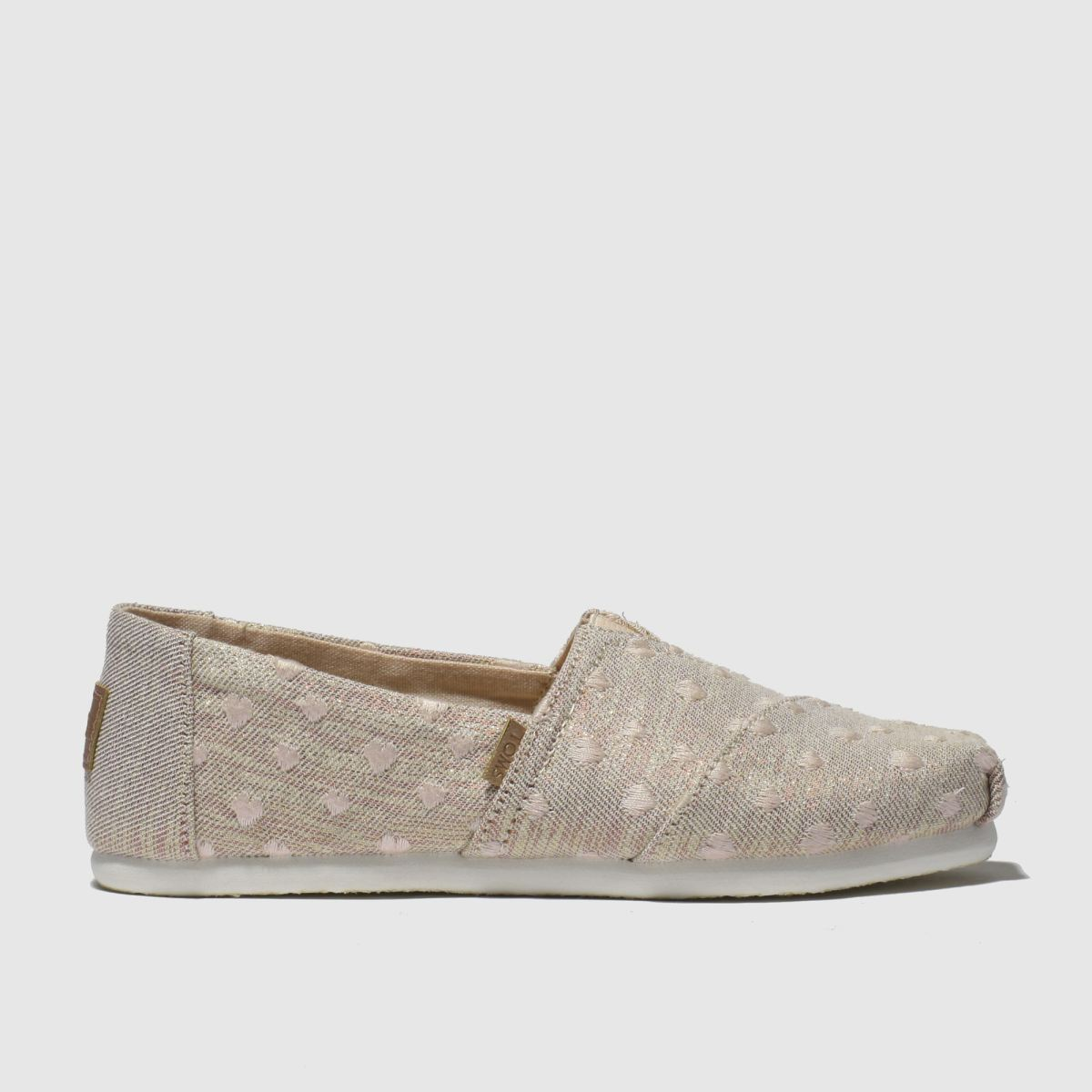 Toms Pale Pink Classic Boots Junior