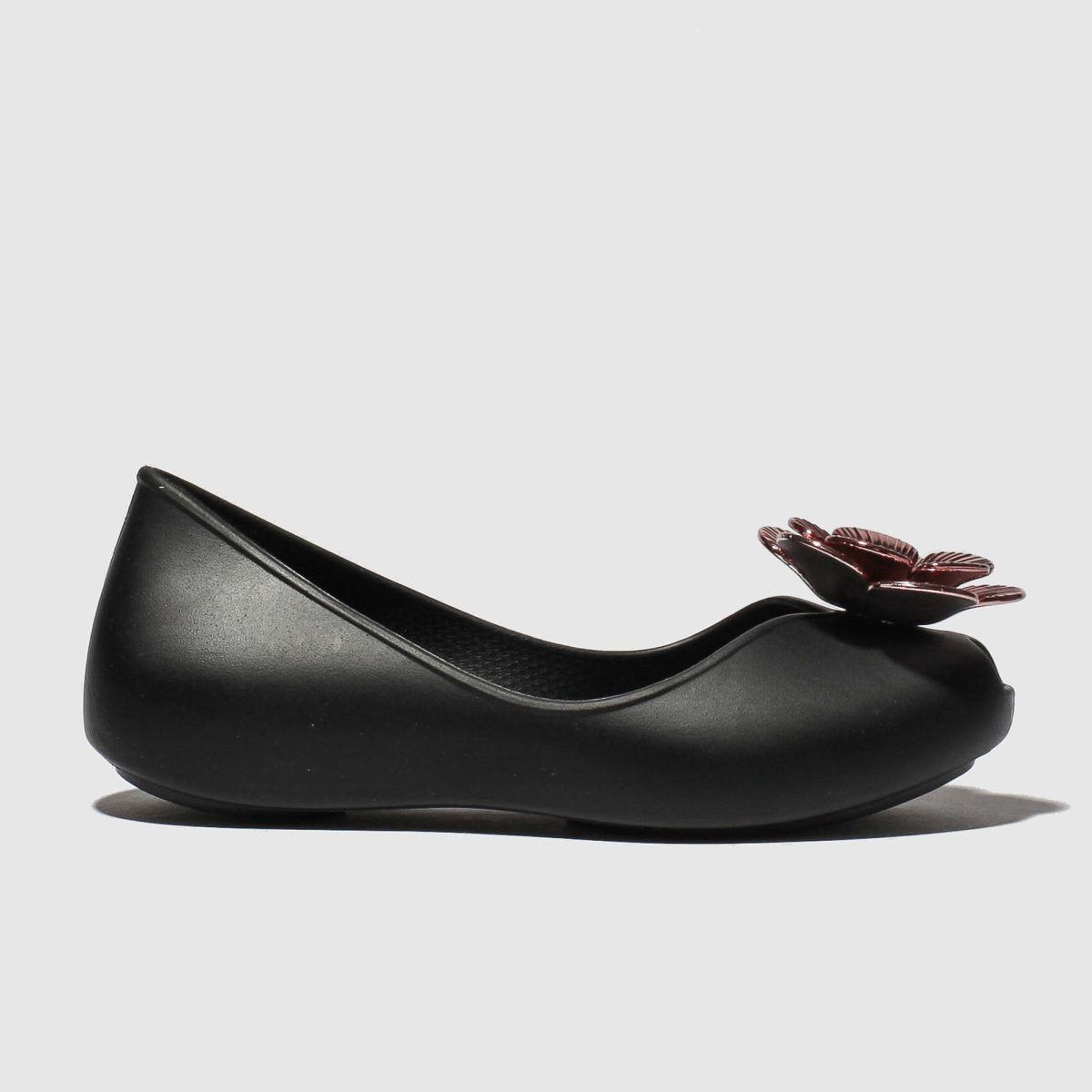 Zaxy Zaxy Black Flower Pearl Shoes Junior