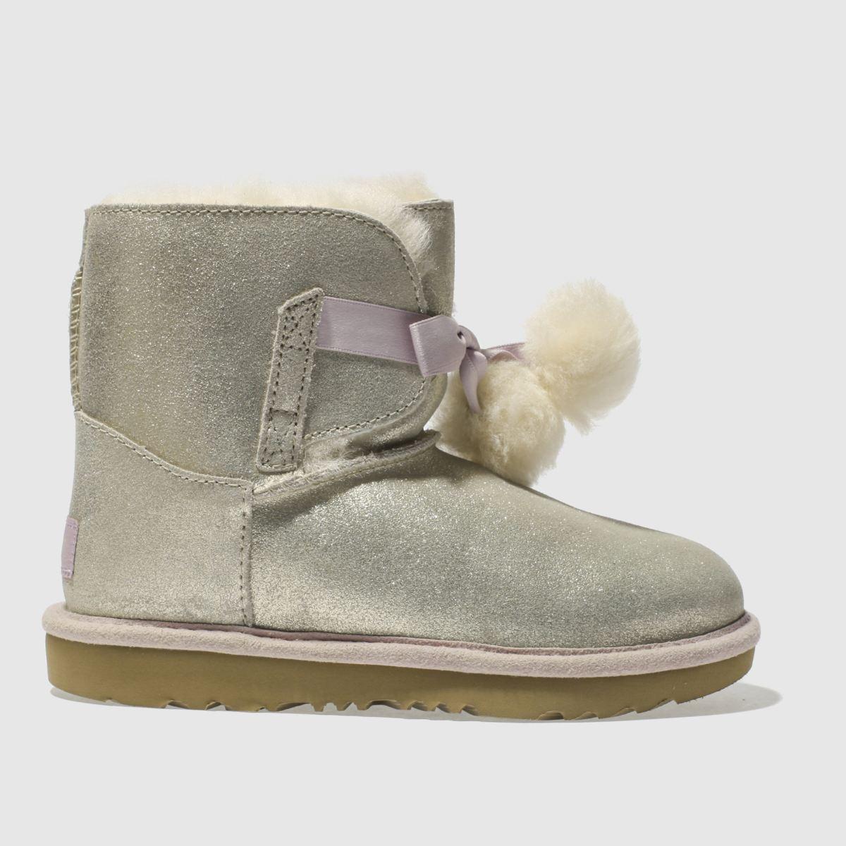 ugg gold gita metallic Girls Junior Boots