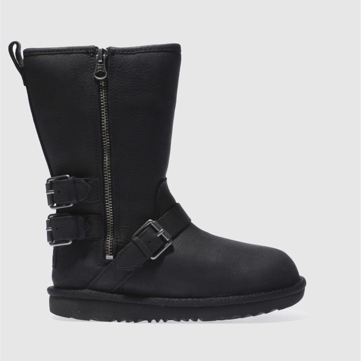 ugg black kaila Girls Junior Boots