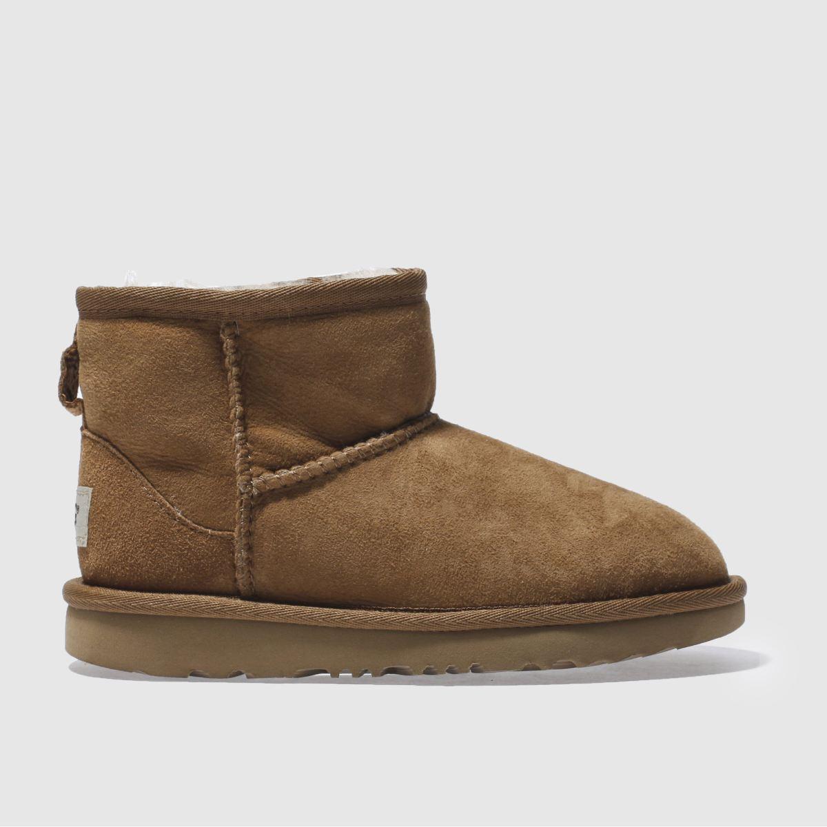 Ugg Tan Classic Mini Ii Boots Junior