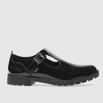 Kickers Black Kick Lachly Girls Junior
