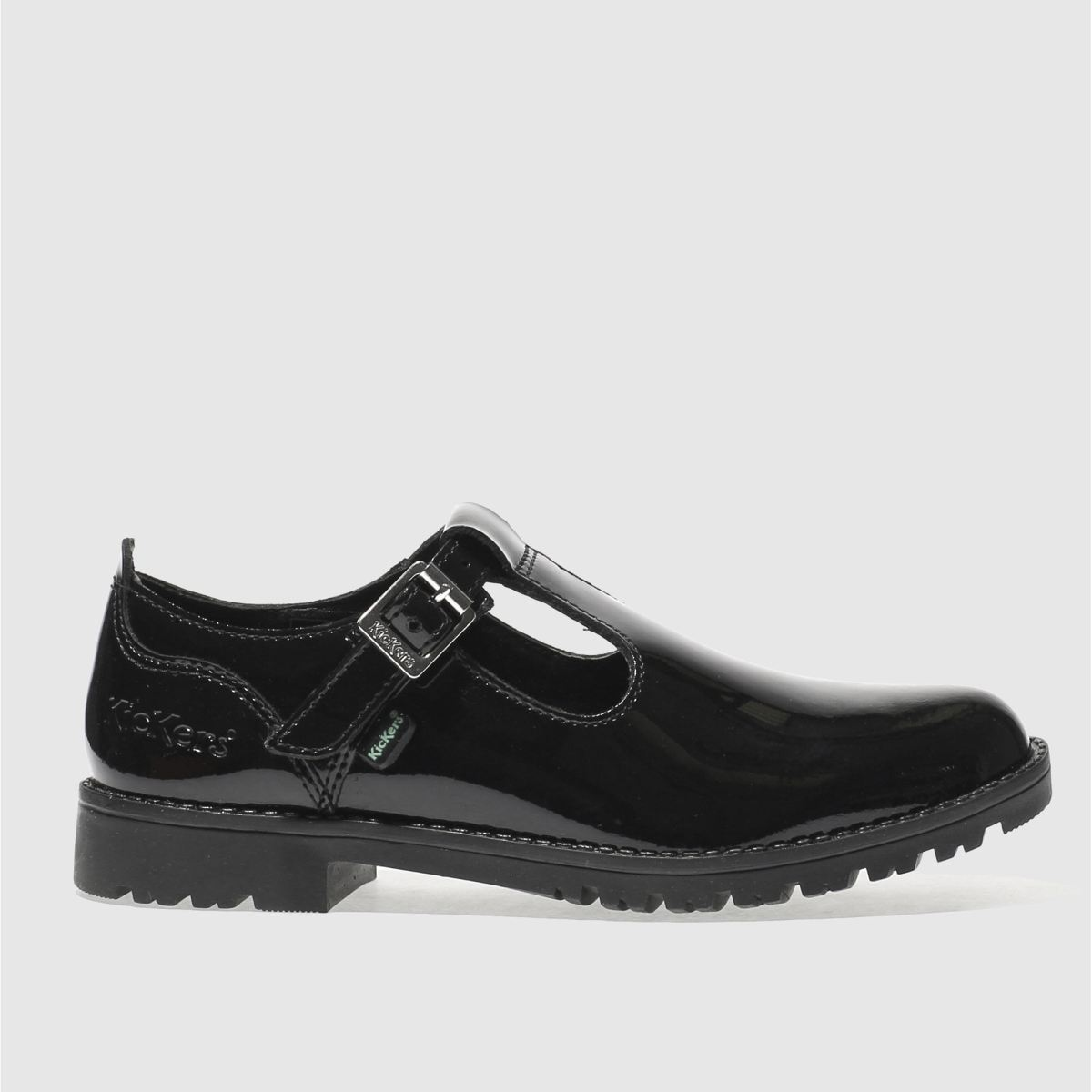 kickers black kick lachly Girls Junior Shoes
