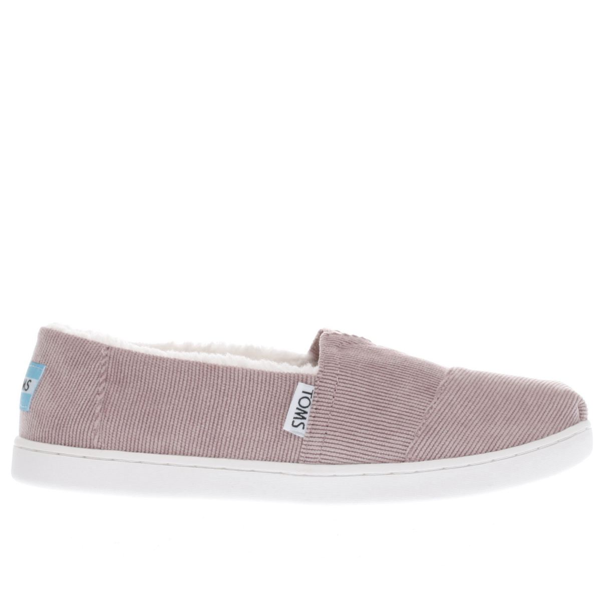 toms pale pink classic Girls Junior Shoes
