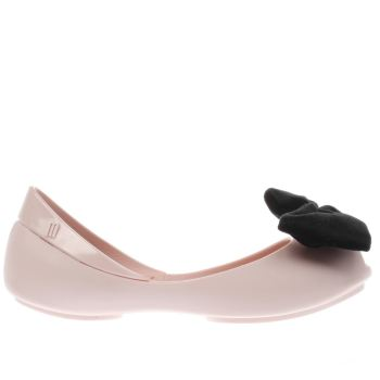 Melissa Pink Queen Velvet Bow Girls Junior