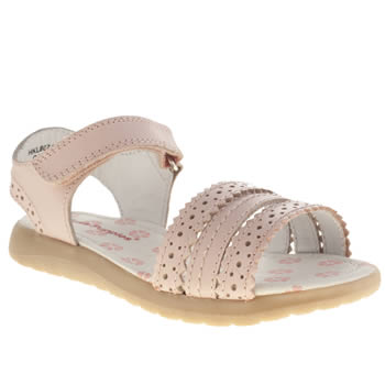 Hush Puppies Pale Pink Oakham Girls Junior