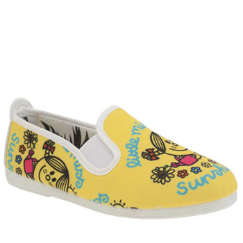 Flossy Yellow Little Miss Sunshine Girls Junior