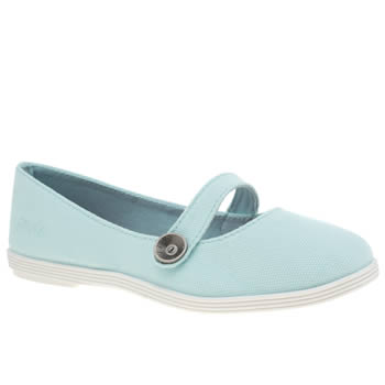 BLOWFISH PALE BLUE GINO GIRLS JUNIOR SHOES