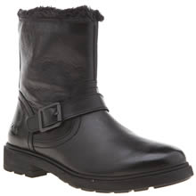 Clarks Black Ines Remi Girls Junior